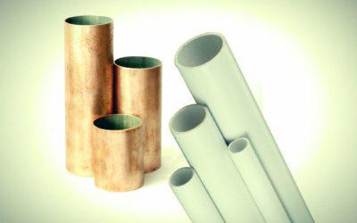Renueva las tuberias,  PVC o Cobre