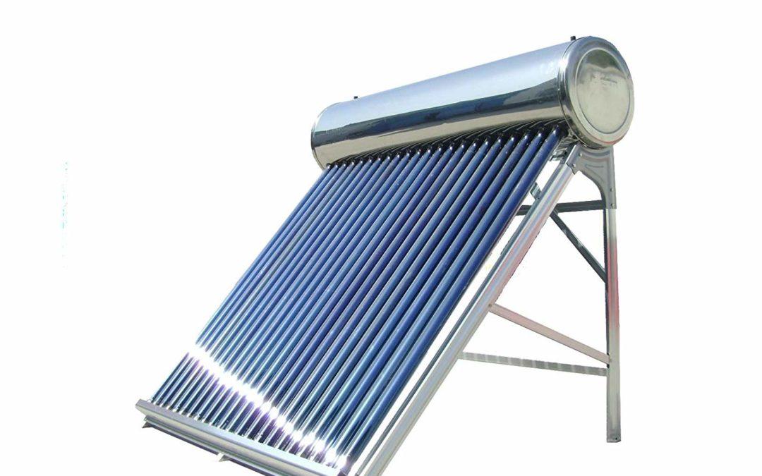 Energía solar para el agua caliente